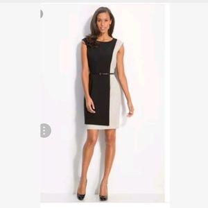 Calvin Klein Women Sheath Dress 14 Career black